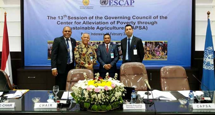Fiji Chaired, Participated At 13TH Governing Council Of CAPSA In Indonesia