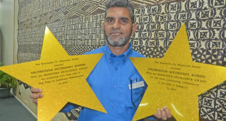 Labasa School Head Credits Awards' Success To Teachers, Parents, Students