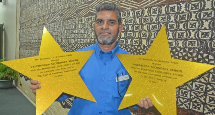 Principal Credits Awards' Success To Teachers,  Parents, Students