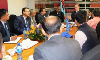DPP Meets Nepalese Government Officials