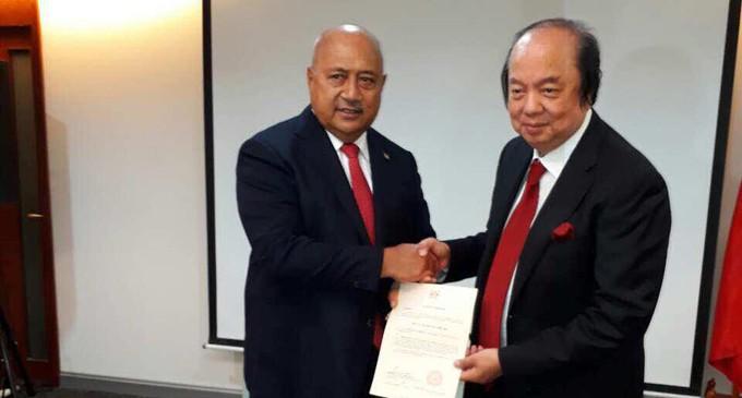 Dr Tahir Appointed Fijian Honorary Consul in Surabaya
