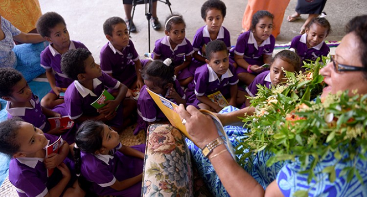 Mrs Bainimarama Launches Phase 3 of Read to Lead Programme