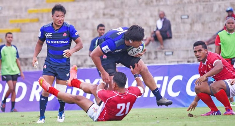 Junior Japan Beat Tonga A