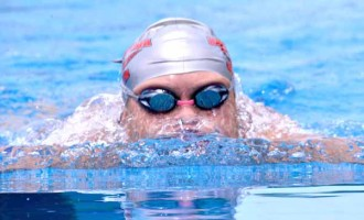 Swimmers Work On Improving Their Times