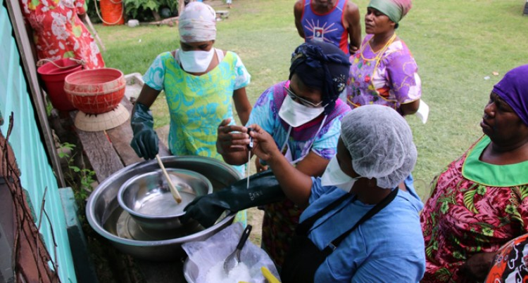 Rural Training Making Products From Local Raw Material