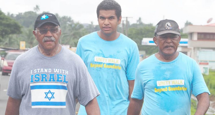 Only 3 Parties Turn Up For 'Unity Walk'