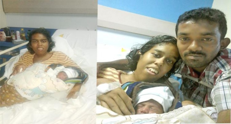 Couple Who Defied Odds Welcome Baby Boy