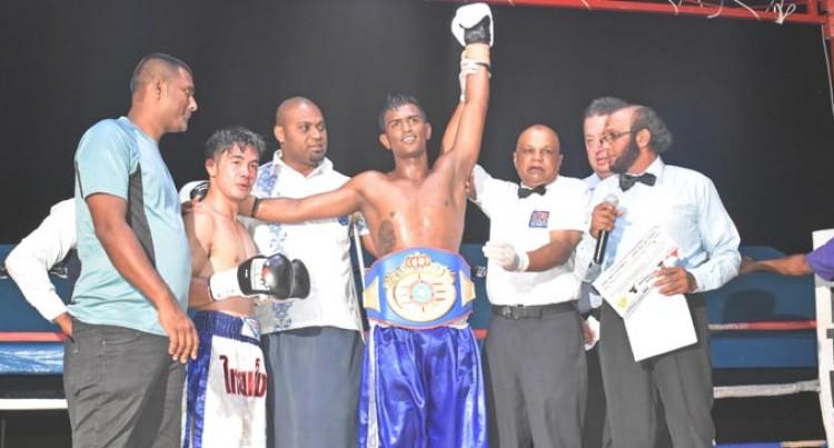 Singh Wins WBF Title