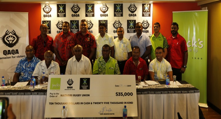 Rugby Jack's Of Fiji And Naitasiri Team Up