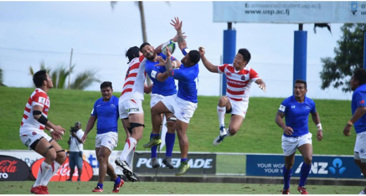 Tongan Impact In Junior Japan Win Over Samoa