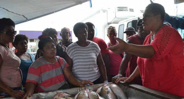 Vendors told of health importance of ice  display for their fish