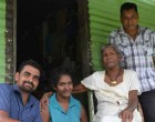 Rotary Club helps repair widow's house