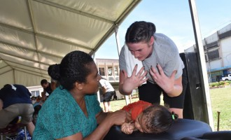 Fiji Impresses US Chiropractor Group