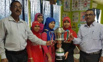 Shazmeen Wins North Nazam Competition