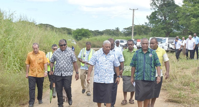 Boost For  Sugarcane  Farmers As Road Works Begin