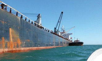 First Bauxite Shipment