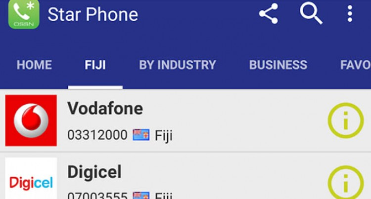 Fiji Sun – Star Phone App