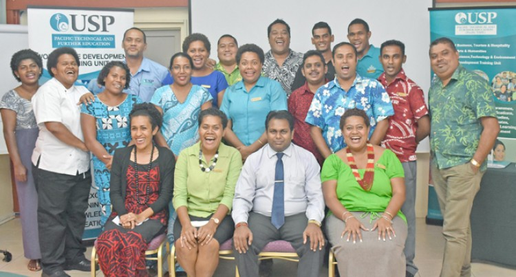 USP Launches Pacific TAFE Cohorts Based Professional Programmes