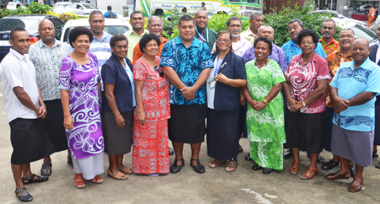 16 Retired Fijian Teachers Head  For Tuvalu