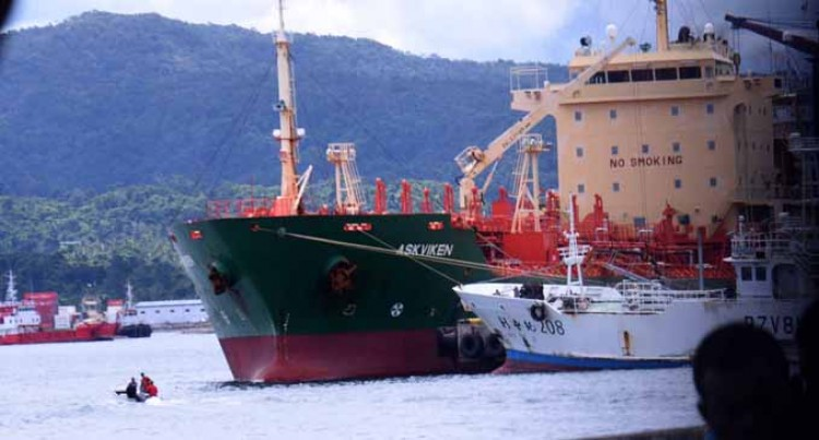 Fuel Discharged At Suva Port