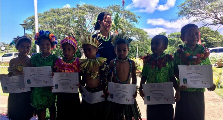 Learning On The Go: UNICEF's  Mobile Kindy Programme in Fiji