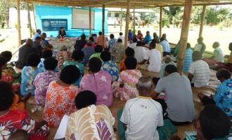 Naitasiri Villages Learn Of Parliament Process