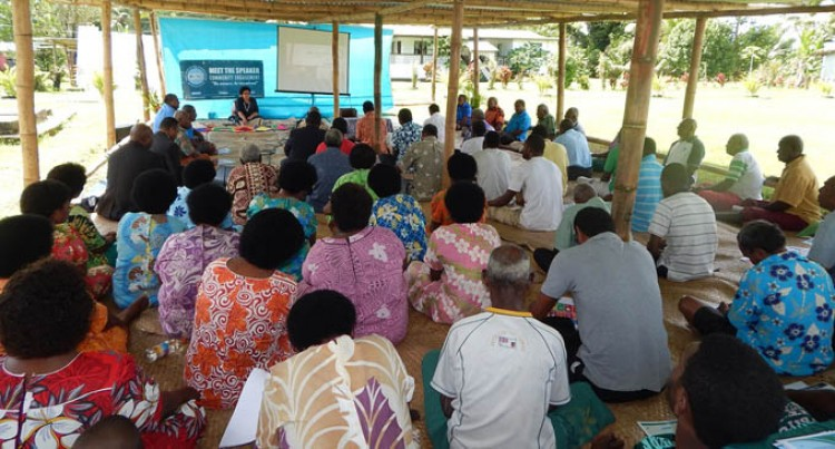 Naitasiri Villages Learn Of Parliament Process