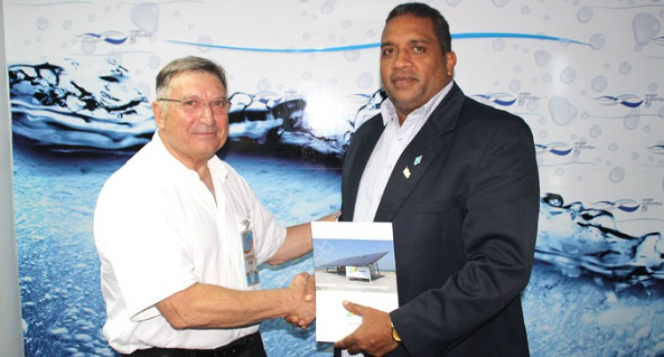 Renewable Water  Inventor Visits  Water Authority