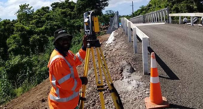 Kasavu Bailey Bridge, Now Open To Traffic