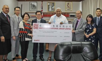 Hong Kong Chamber Gives $200K For Winston Help
