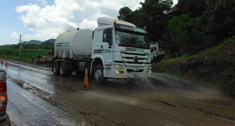 Contractors work hard to restore Labasa roads