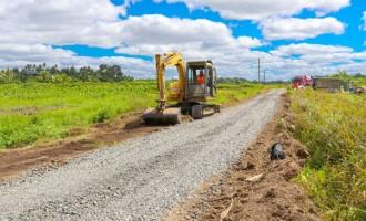 Lakena Irrigation Road Receives Upgrades