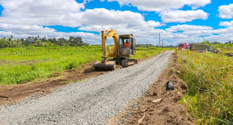 Lakena Irrigation Road Receives Upgrades