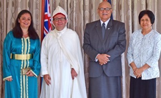 President Konrote Receives  Credentials From Non-Resident  Moroccan  Ambassador