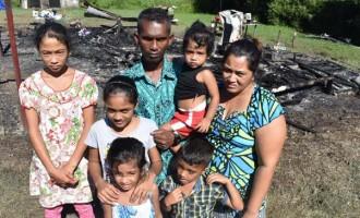 House Fire Leaves Family Homeless
