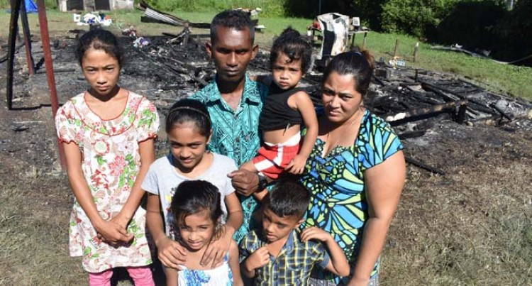 House Fire Leaves Family Homeless