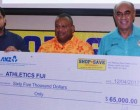 $65K To Boost Athletics Fiji
