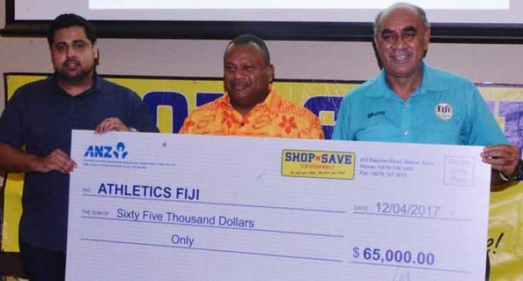 $65K To Boost Athletics Fiji