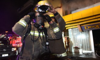NFA Probes Fire Above Footwear Outlet In Suva