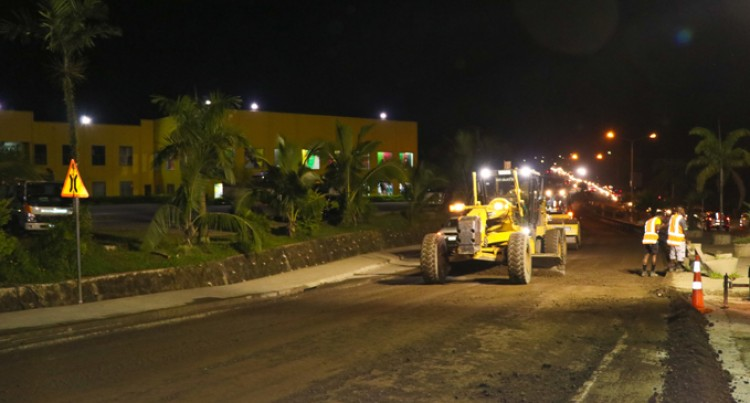 Wainibuku Bridge Approach Undergoes Repair