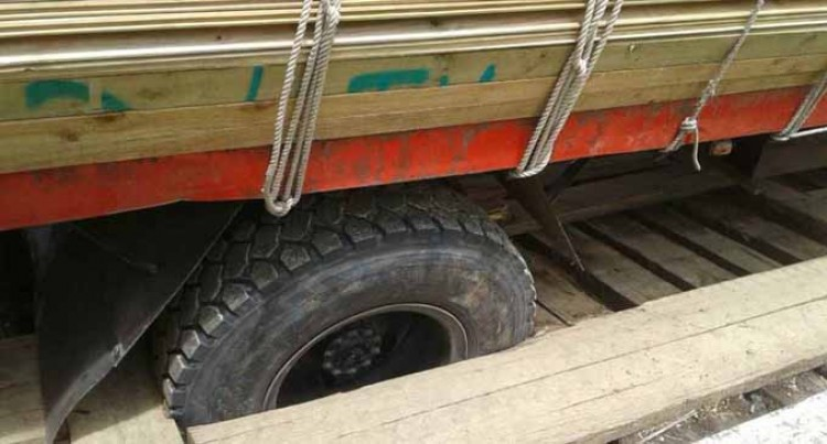 FRA Report: Bridge Damaged  by Hardware Company Truck