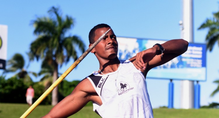 Maya Eyes Javelin Gold Medal