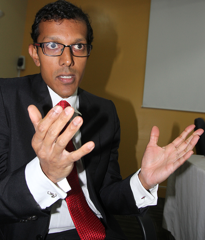 Madras Institute of Orthopaedics and Traumatology  (MIOT) International managing director Prithvi Mohandas.  Photo: Ronald Kumar