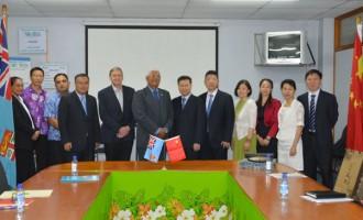 China, Fiji Strengthen Health Ties