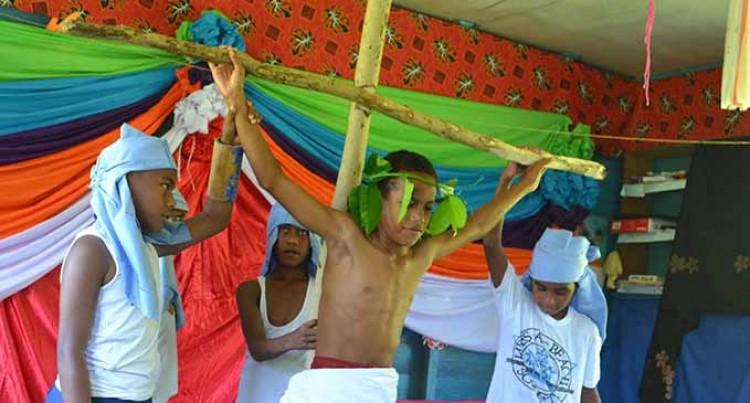 Labasa Students Re-Enact Easter Story