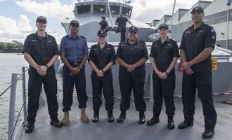 Kiwi Navy Ship Here This Week
