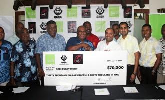 $70K Sponsorship Boost For Nadi Rugby