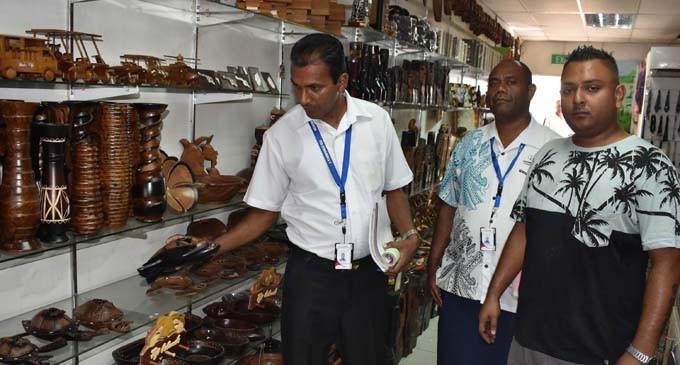 Authority Penalises 3 Handicraft Shops In Nadi Fiji Sun
