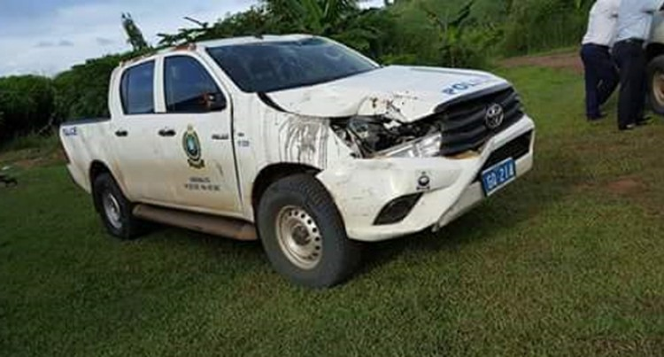 Another Police Vehicle Crashes