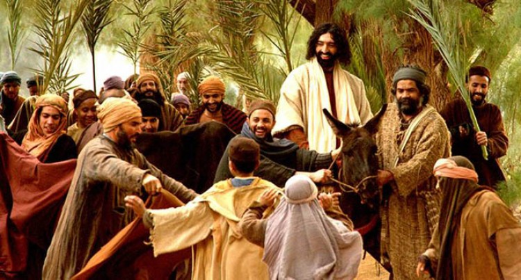 Let's Make Peace With Jesus  This Palm Sunday